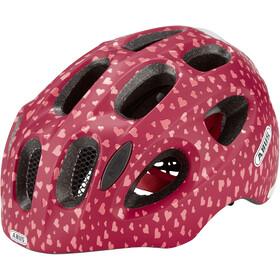 ABUS Youn-I Helmet Kinder cherry heart
